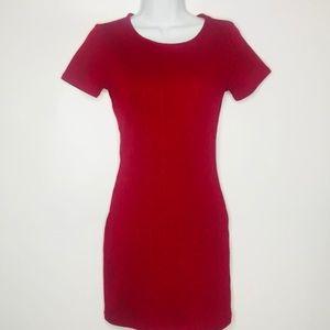 Vintage Red Mini Dress